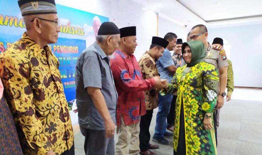 Wakil Walikota Tanjungpinang Rahma S.IP saat menghadiri Kegiatan KKBI di Aula Muhammadiyah Tanjungpinang