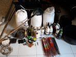 Barang Bukti (BB) penangkapan Illegal Fishing oleh jajaran Polsek Tambelan dan Satreskrim Polres Bintan