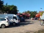 Situasi terkini di Satreskrim Polres Tanjungpinang, beberapa anggota masih terus melakukan penjagaan