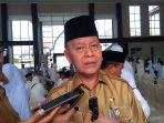 Walikota Tanjungpinang, H Syahrul S.Pd saat di Asrama Haji Tanjungpinang