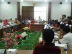 Komisi I DPRD Kota Batam, Saat Rapat Terkait Pemotongan Lahan Hutan Lindung. Foto JIHAN