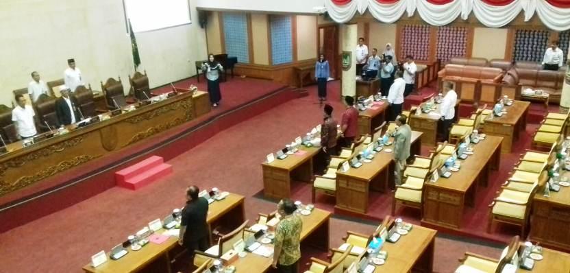 Suasana Pembukaan Sidang Paripurna ke IV DPRD Kota Batam