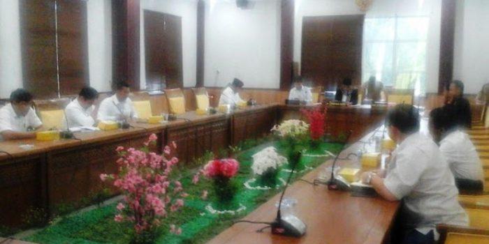 Suasana Rapat di Komisi I DPRD Kota Batam. Foto Infokepri