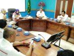 Wabup Natuna Hj. Ngesti Yuni Suprapti Saat Memimpin Pertemuan Dengan PT. Telkom Indonesia