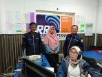 Pengurus FKDM Kepri usai dialog interaktif di RRI Tanjungpinang