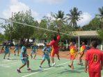 Pembukaan lomba volley dalam rangka Komsos tahun 2019, Kodim 0315/Bintan