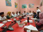 Rapat pelaksanaan peluncuran 8 paket produk wisata oleh Kadis Kebudayaan dan Pariwisata Kota Tanjungpinang, Drs Surjadi MT