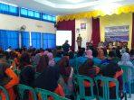 Walikota Tanjungpinang, H Syahrul S.Pd saat memberikan kata sambutan di kegiatan Seminar Sehari yang dilaksanakan oleh KBB Kepri
