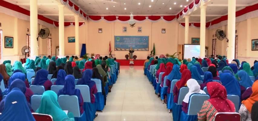 Pengurus dan Kader PKK Kabupaten Natuna Yang Ikut Hadir Acara