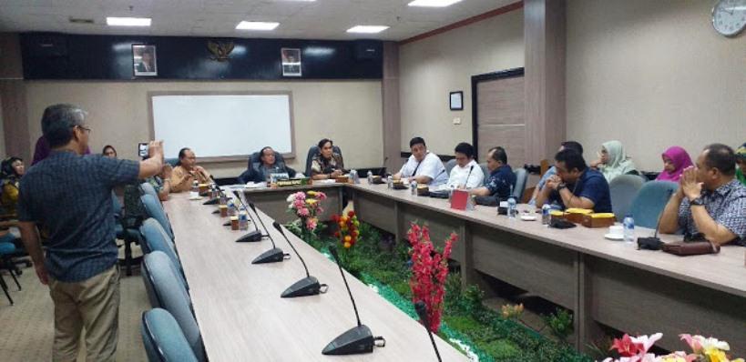 Rombongan DPRD Provinsi DKI Jakarta Saat Berkunjung ke DPRD Kota Batam