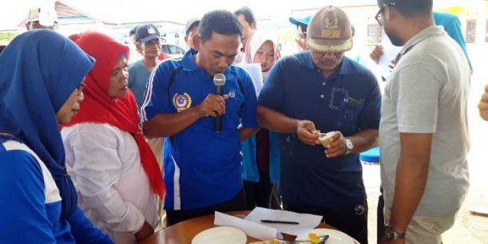 Suasana Workshop di Desa Toapaya Utara. Foto Bustami.