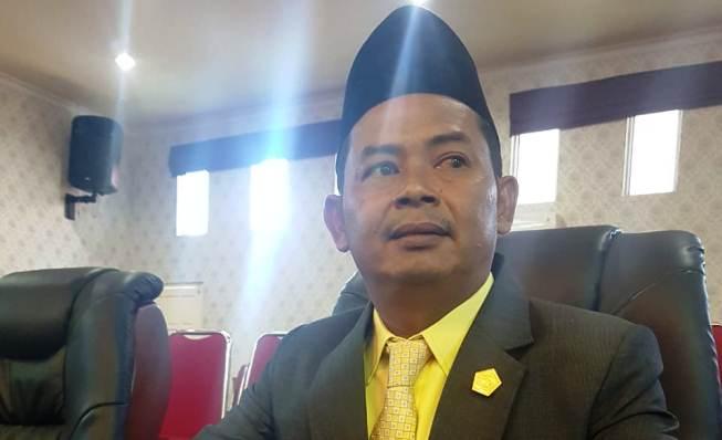 Anggota Komisi III DPRD Karimun, Wiyono. Foto MASRIE