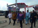 Edi Jaafar (kemeja putih) bersama Asisten Gubernur Kepri Samsul Bahrum, Wakil Bupati Bintan Dalmasri Syam serta sejumlah pimpinan FKPD dan OPD dan Anggota DPRD Bintan