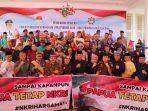 Perwakilan suku bangsa laksanakan Dekalarasi Kebangsaan bersama Plt Gubernur Kepri, Isdianto