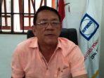 Ketua DPK Apindo Kabupaten Natuna, Cucu Saat Ditemui di Kantornya. Foto Manalu