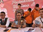 Kabid Humas Polda Kepri Kombes Pol S Erlangga saat konfrensipers