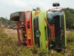 Posisi Truck Usai Kecelakaan