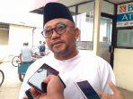 Ketua DPRD Kepri sementara, Lis Darmansyah saat diwawancara sejumlah awak media di pelabuhan Sri Bintan Pura, pagi