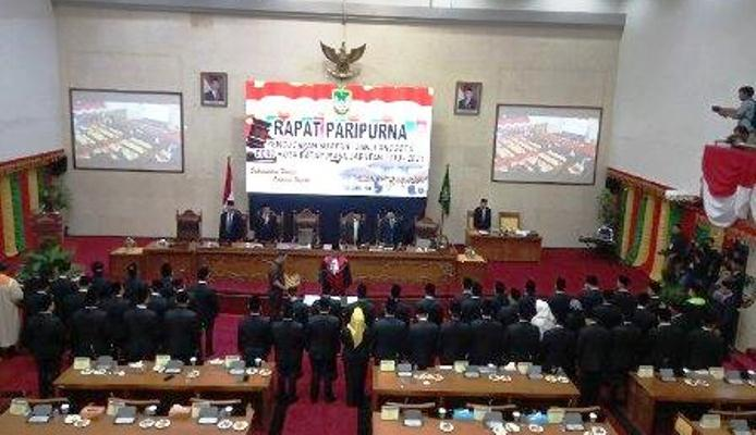 Pelantikan Anggota DPRD Batam. Foto Batamnews