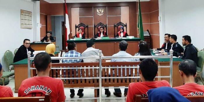 Saksi Saksi Atas Kasus Dugaan Penganianyaan Saat Memberikan Keterangan Dalam Sidang