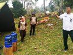 Wan Siswandi Saat Meninjau Lokasi Kursus Pembinaan Pramuka Mahir Tingkat Dasar Penggalang Kwarcab Natuna