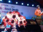Bupati Natuna, Abdul Hamid Rizal Saat Menutup Pekan Expo Natuna 2019