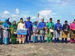 Foto Bersama Usai Penyerahan Hadiah di Upacara Peringatan HUT ke 20 Kabupaten Natuna