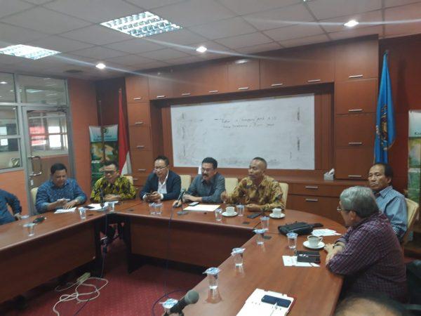 Ketua dan Pengurus PWI Pusat melaksanakan rapat pembahasan HPN 2020