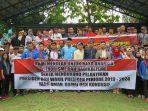 PMII bersama elemen masyarakat melaksanakan deklarasi damai di lapangan Pamedan, Tanjungpinang