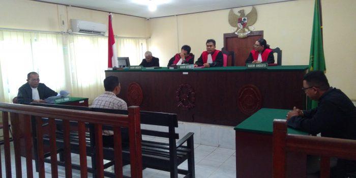 Sidang penganiayaan anak dibawah umur di Pengadilan Negeri (PN) Tanjungpinang