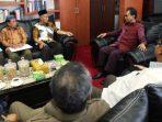 Suasana Audensi Ketua DPRD Kepri, Jumaga Nadeak Bersama LAM Kepri