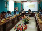 Suasana SP4N - LAPOR di Ruang Rapat Kantor Bupati Natuna