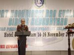 Anggota Komisi IV DPRD Kepri, Sirajudin Saat Menyampaikan Kata Sambutan