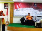 Hj Ngesti Yuni Suprapti saat membuka kegiatan Forum Peningkatan Kesadaran Bela Negara