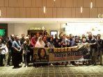 """Kapolres Tanjungpinang Nobar Flim """"Hanya Manusia"""" bersama TNI-Polri dan masyarakat"""