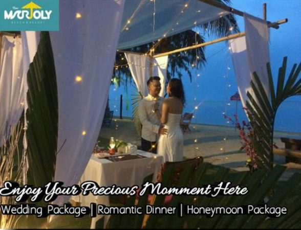 Paket Honey Moon (Romantic Dinner) di New Marjoly Beach & Resort di Kawal Km 32 Kabupaten Bintan