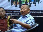 Bobby Jayanto saat menjadi narasumber di kegiatan Temu Bisnis dan Fasilatasi Kemitraan antar UMKM, Insatansi Pemeintah dan Dunia Usaha di Hotel Comforta