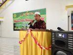 Ketua pelaksana kegiatan Maulid Nabi Muhammad SAW, Aminullah Siregar