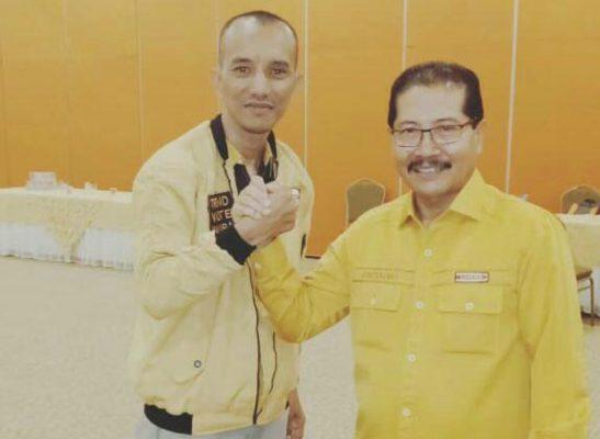 Sekretaris DPD Partai Hanura versi Bambu Apus (BA), Shandy Setiawan