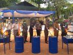 Proses pemusnahan BMN oleh BC Tanjungpinang
