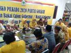 Ketua DPD I Partai Golkar Kepri, Ansar Ahmad Saat Rapat Pleno Dengan DPD Golkar Kabupaten dan Kota