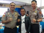 AKBP Boy Herlambang bersama AKBP Bambang saat photo bersama