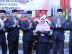 Ketua dan Anggota Fraksi PKS DPRD Kepri Saat Foto Bersama