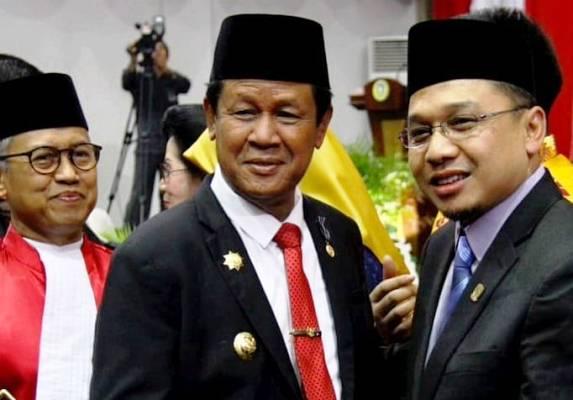 Raden Hari Tjahyono Bersama Plt Gubernur Isdianto