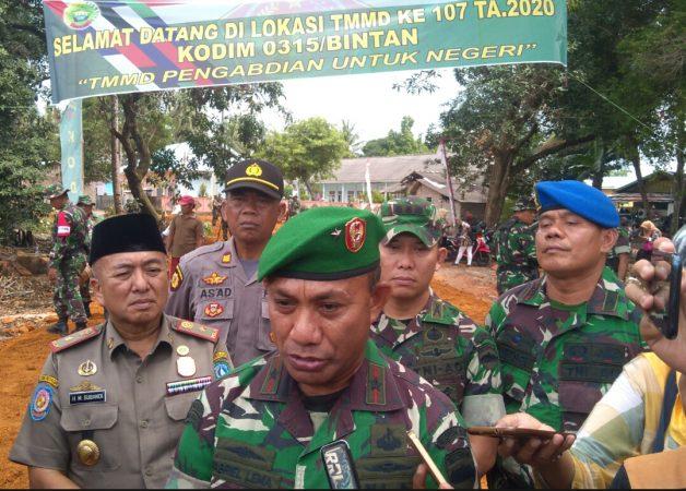 Danrem 033/WP Brigjend TNI Gabriel Lema