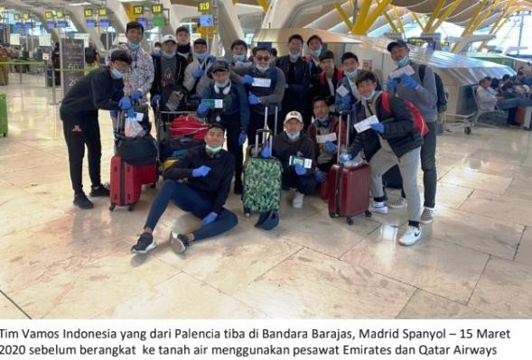 Pemain Vamos Indonesia