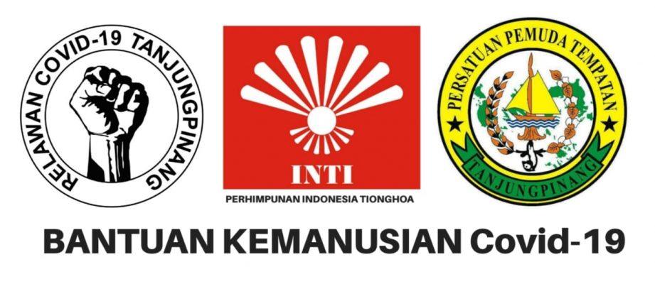 Relawan Covid-19 Tanjungpinang, INTI dan Perpat Tanjungpinang