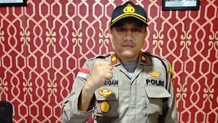 Kapolsek Batu Ampar Kompol M Reza Morandy Tarigan