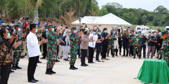 Ketua DPRD Kepri, Jumaga Saat Menghadiri Peresmian Rumah Sakit Khusus di Pulau Galang