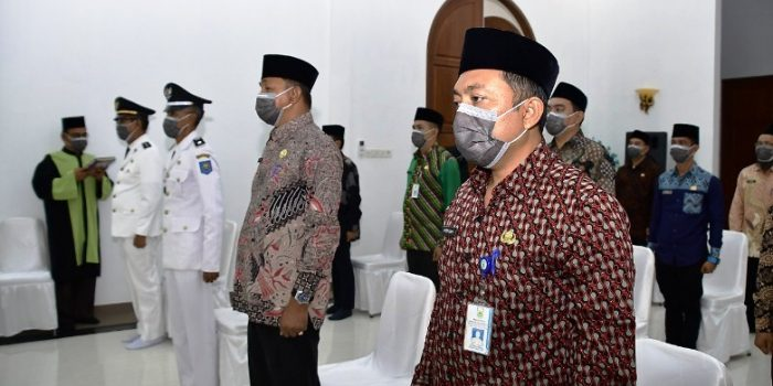 Para Pejabat Eselon III dan IV yang dilantik